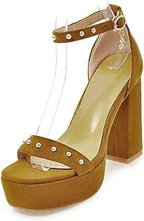 Dancing Platform Women Square High Heels Party Wedding Sandals