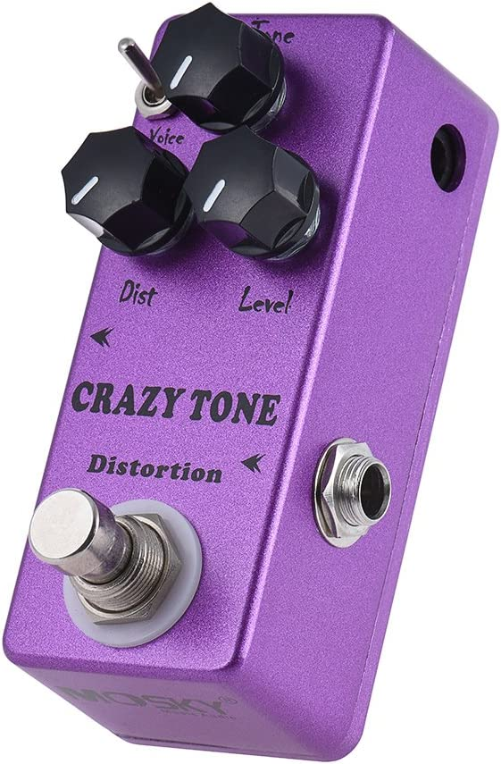 MP-50 CRAZY TONE RIOT Distortion Pedal Guitar Brand new High order Effect Mini Single