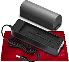 Battery and Charger Kit for Canon NB-CP2LH, NB-CP2L, NB-CP1L, CG-CP200 and Canon Compact Photo Printers SELPHY CP800, CP900, CP910, CP1200, CP1300