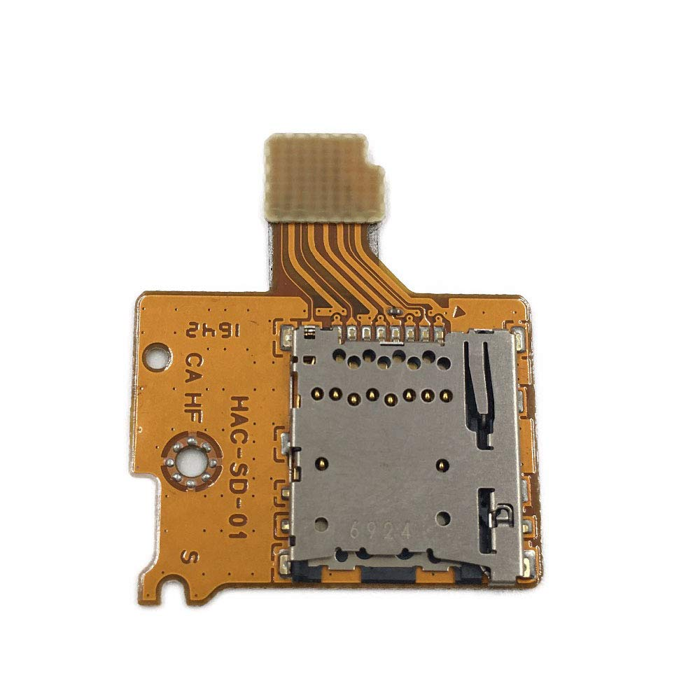 Micro SD TF ranura de tarjeta Socket Reader Board para Nintendo Switch NS NX consola de repuesto: Amazon.es: Electrónica