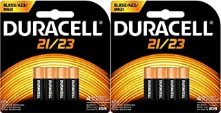 良いおすすめ8 21/23 12Vアルカリ電池Duracellの取り付けmn21b4 8lr50 a23 mn21と2021のレビュー