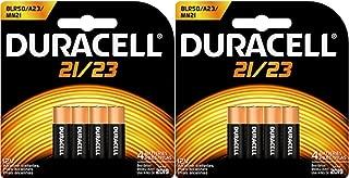 8 Duracell Duralock 21/23 12V Alkaline Batteries MN21B4 8LR50 A23 MN21