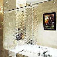 cortinas baño traslucidas