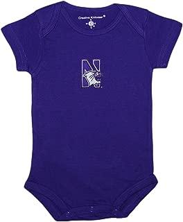 Creative Knitwear Northwestern University Wildcats Baby Bodysuit