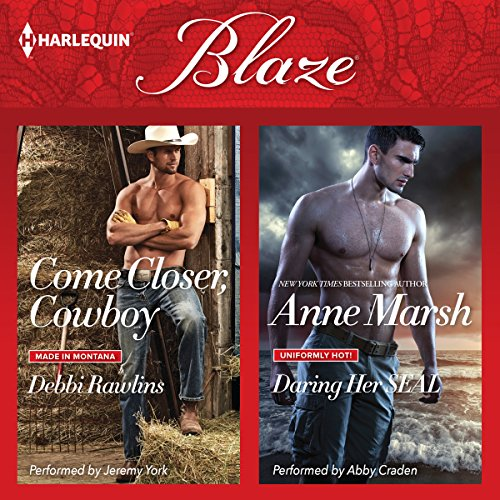 Come Closer, Cowboy & Daring Her SEAL audiobook cover art
