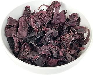 CENALGA Organic Dulse Whole Leaf - 8 oz / 0.5 lb - Culinary Quality Hand-Harvested Atlantic Coast Seaweed - Vegan - Ideal for Keto or Paleo Diet - non-GMO - Gluten-Free - Kosher (8)