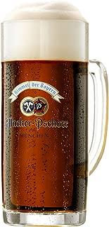 Hacker Pschorr Glass Beer Mugs 0.5 Liter   Set of 2 Mugs   Made in Germany