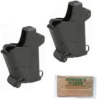 Nimrod's Wares 2-Pack Maglula UP64B Baby UpLULA Universal Pistol Mag. Loaders 22-.380 Microfiber Cloth