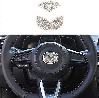 Best mazda 3 steering wheel emblem sticker Reviews