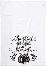 vizuzi Thankful Grateful Blessed Inspirational Bathroom Kitchen Dish Hand Towels 40 x 60 cm