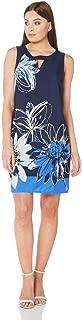 Women's Floral Keyhole Shift Dress Sizes 10-20