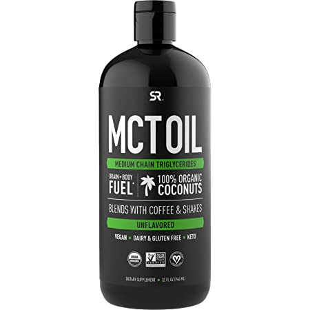 Premium MCT Oil derived only from Non-GMO Coconuts