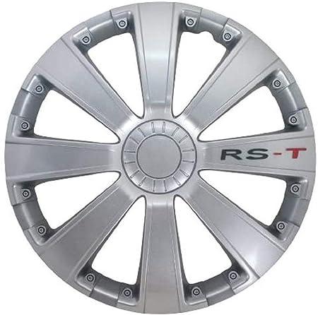 Petex Rb534116 Radzierblende Rs T Größe 16 Zoll 2 Fach Lackiert Material Abs In Box Silber 4 Er Set Auto