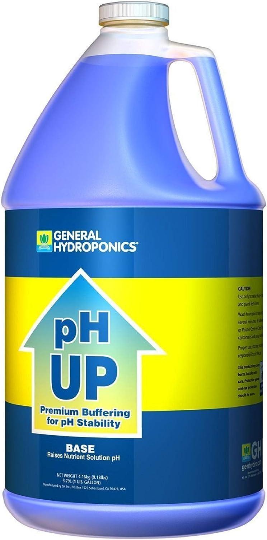 General Hydroponics pH Up Fertilizer 1 Liquid 限定モデル 引出物 Gallon