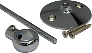 LASCO 08-1099 Add a Shower Support Bracket with 6-Inch Rod, Chrome Plated