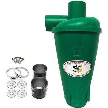 Colector de polvo Extractor de polvo Separador Ciclónico Filtro Ciclón Recolección de Polvo para Aspirador (Verde): Amazon.es: Bricolaje y herramientas