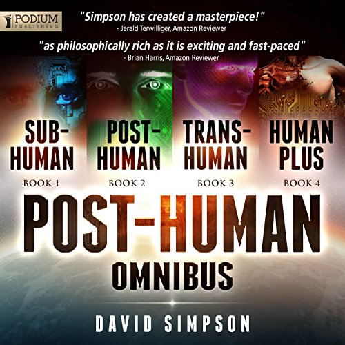 The Post-Human Omnibus audiobook cover art