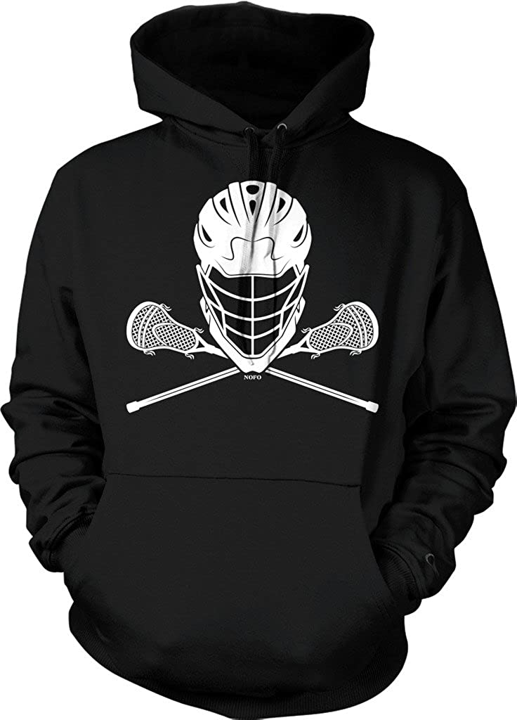 NOFO Clothing Ranking integrated 1st place Co Lacrosse Helmet Hooded Sticks and Sweatshirt High quality new