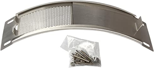 Dracarys Green Egg Replacement Parts Stainless Steel Draft Door Kit BBQ Parts Big Green Egg Parts Accessories Fit for Medium & Large Big Egg Grill, with Punched Mesh Screen
