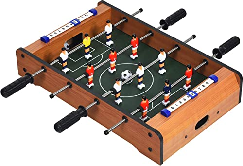 discount Giantex 20in Foosball Table , Mini Foosball Table Top w/ outlet online sale Score Keepers, 2 Balls, Soccer Table Game for Kids, Football Table lowest for Family Game Night, Game Room, Bars, Parties online