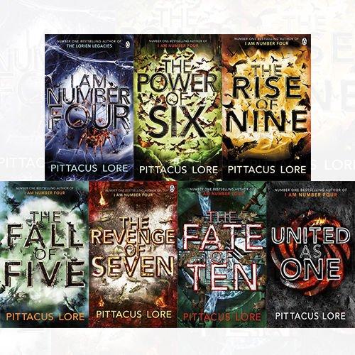 i am number four books set - 1