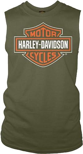 HARLEY-DAVIDSON T-Shirt sans Manches pour Homme Motif Yokosuka