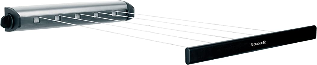 Brabantia Wall-Mount Pull Out Indoor Clothesline - Stainless Steel