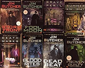 Dresden Files by Jim Butcher Novel Set Books 1-16