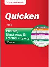 Quicken Home, Business & Rental Property 2018 Release – 24-Month Personal Finance & Budgeting Membership