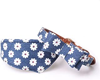 PetFavorites Small Dog Costume Collar - Leather Bowtie Kitten Bandana Collar for Halloween - Teacup Yorkie Chihuahua Clothes Outfits Accessories, Adjustable and Handmade