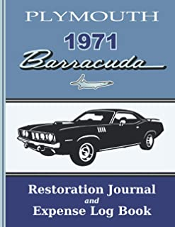 1971 Barracuda - Restoration Journal and Expense Log: Document the progress of your car's restoration, and keep track of p...