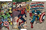 Close Up Marvel Comics Poster - Retro 3er Set -