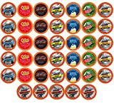 BEST Of The BEST Flavored Coffee Pods, Variety Pack for Keurig K-Cup Brewers, 40 Count