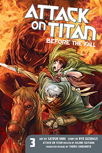 Attack on Titan: Before the Fall Vol. 3 (English Edition)
