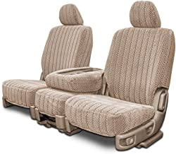 Custom Fit Seat Covers for Mercedes 500SL-600SL Front Low Back Seats - Taupe Scottsdale Fabric