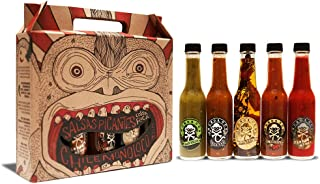 Chile Monoloco Variety 5 Pack - Costa Rican Hot Sauces