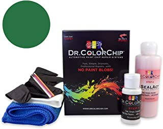 Dr. ColorChip Plymouth All Models Automobile Paint - Sassy Grass Green or Green Go J-6 (1970) - Road Rash Kit