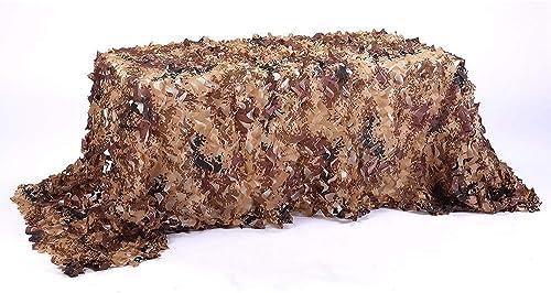Carl Artbay Bache de Tente Filet de Camouflage désert, Peau de Camping 2x3m (MultiCouleure) (Taille  7x9m) Filet de Camouflage Camouflage (Taille   6X8M)