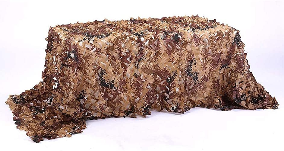 Filet de camouflage parasol multi-usage Filet de camouflage désert, peau de camping 2x3m (multiCouleure) (taille  7x9m) Bache AI LI WEI (Taille   8x9m)