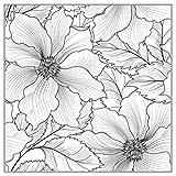 ECMQS Flowers Background DIY transparente sellos, silicona Stempel Set, Clear Stamps, Schneiden plantillas, Bastelei Scrapbooking herramienta