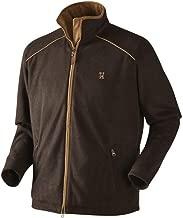 Harkila Sandhem Fleece Jacket Dark Port Melange