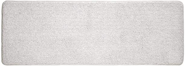 mDesign Soft Microfiber Polyester Non-Slip Extra-Long Spa Mat/Runner, Plush Water Absorbent Accent Rug for Bathroom Vanity...