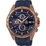 [カシオ]エディフィス EDIFICE 100m防水 ブルー&ゴールド クロノグラフ EFR-556PC-2A メンズ 腕時計 [並行輸入品]