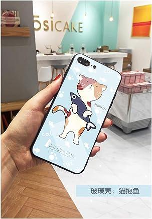 iPhone7/8/iPhone7plus/8plusケース ガラス iPhone XS Max 携帯ケース iPhone X 保護カバー 携帯の殻 保護セット iPhone XSモバイルシェル iphoneX携帯電話ケース iphoneXS/MAX ドロッププロテクション (iPhone8Plus ケース)