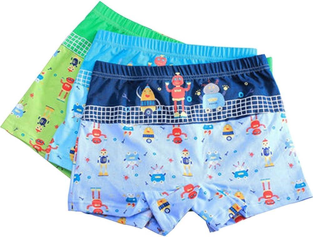 3 Pack Boys Big Robot Series Boxers Panties/Height 130CM