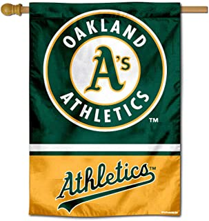WinCraft Oakland Athletics Double Sided House Flag