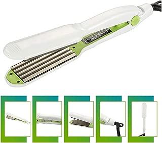 Hair Curler Crimper Ceramic Corrugated Curler Curling Iron Hair Styler Electric Corrugation Wave Styling Tools,Uk