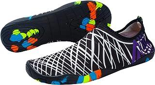 Waterschoenen, Zwemschoenen voor Heren & Dames, Sneldrogende Unisex Barefoot Skin Water Schoenen Sokken, Aqua Schoenen voo...