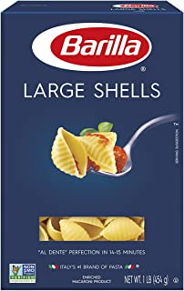 Barilla Pasta, Large Shells, 16 Ounce (Pack of 12)