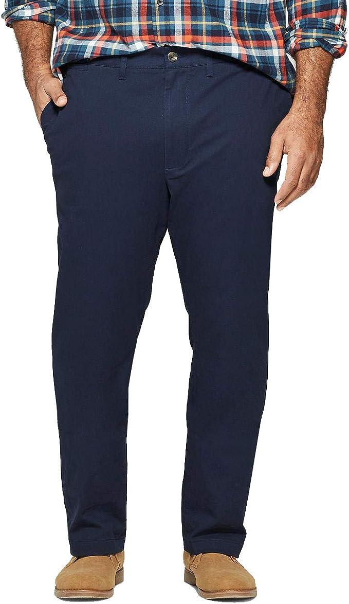 Brand NWT Men/'s Slim Hennepin Chino Pants By Goodfellow /& Co. 33x34 Black